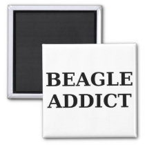 beagle addict magnet