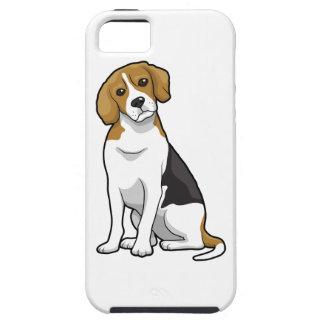 Beagle adorable iPhone 5 funda