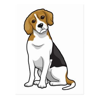 Beagle adorable postales