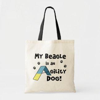 Beagle Agility Dog Tote Bag