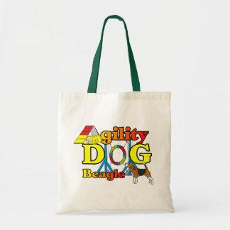 Beagle Agility Gifts Tote Bag