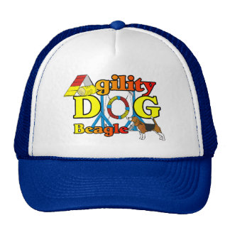 Beagle Agility Gifts Trucker Hat