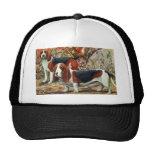 Beagle and Basset Hound Trucker Hat