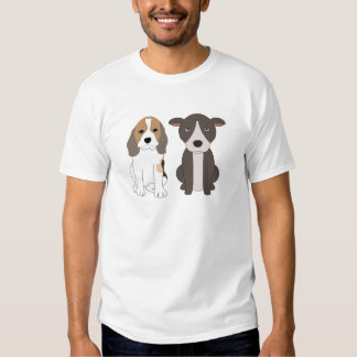 Beagle and his Pitt Bull friend T-Shirt