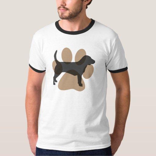 Beagle and Pawprint T-Shirt