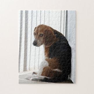 beagle attitude jigsaw puzzle