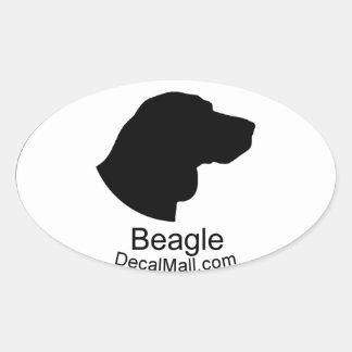Beagle Auto Window Decal Sticker