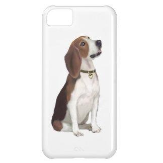 Beagle (b) - Mirada para arriba Funda Para iPhone 5C