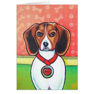 Beagle Baby Card