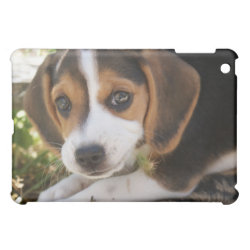 Case Savvy iPad Mini Glossy Finish Case with Beagle Phone Cases design