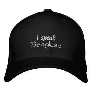 Beagle Bark Embroidered Baseball Cap