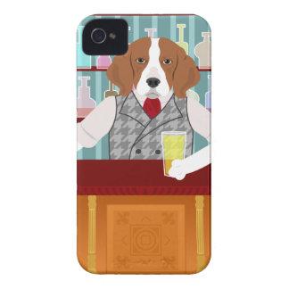 Beagle Beer Pub iPhone4 Case