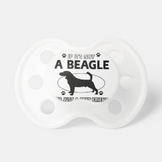 BEAGLE best friend designs Baby Pacifiers