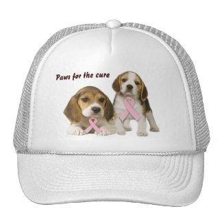 Beagle Breast Cancer Hat