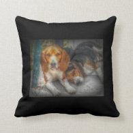 Beagle Brothers Pillow