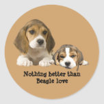 Beagle Buddies Sticker