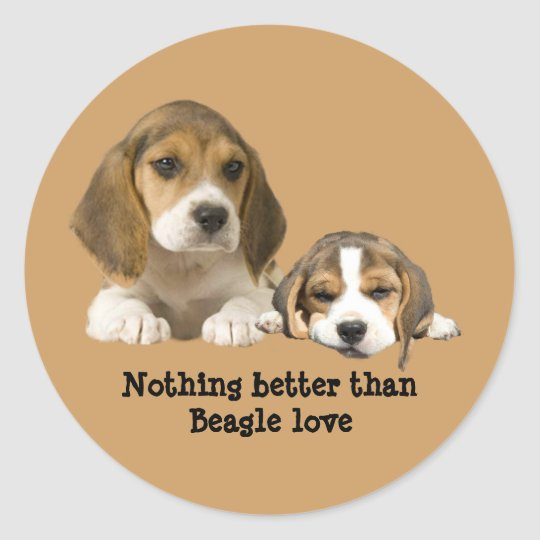 Beagle Buddies Sticker