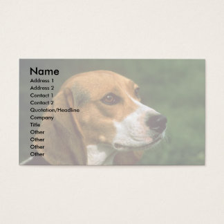 Beagle Business Card