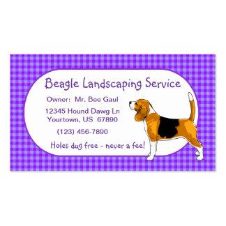 Beagle Business Cards
