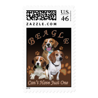 Beagle Can t Have Just One Postage