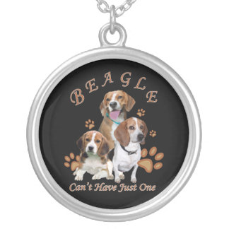 Beagle Can't Have Just One Necklace