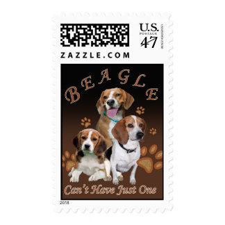 Beagle Can't Have Just One Postage