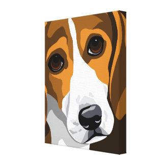 Beagle Canvas Art Prints