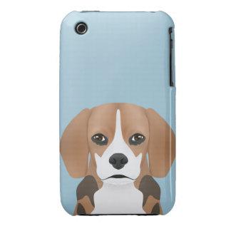 Beagle cartoon iPhone 3 cases