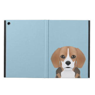 Beagle cartoon iPad air case