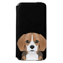 Incipio Watson™ iPhone 6 Wallet Case with Beagle Phone Cases design
