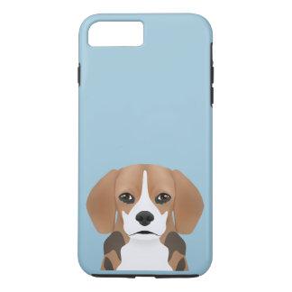 Beagle cartoon iPhone 7 plus case
