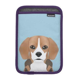 Beagle cartoon sleeve for iPad mini