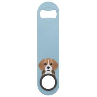 Beagle cartoon speed bottle opener