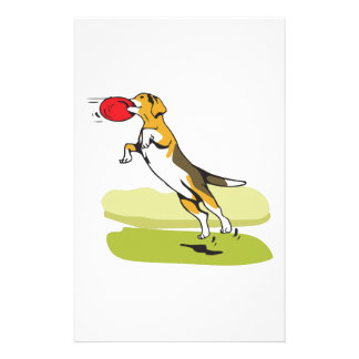BEAGLE CATCHING DISC STATIONERY