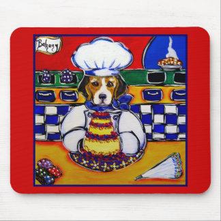 Beagle Chef Mouse Pad