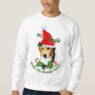 Beagle Christmas Gifts Sweatshirt