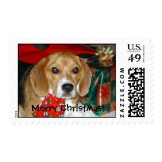 Beagle_Christmas Postage