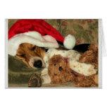 Beagle Claus, Christmas Thank You card