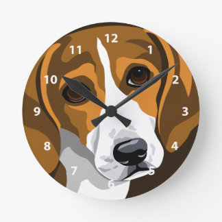 Beagle Clocks For Dog Lovers