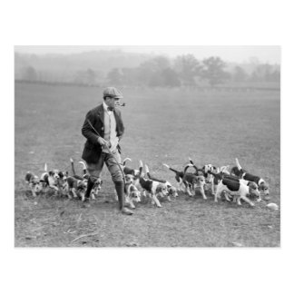 Beagle Club, 1914 Postales