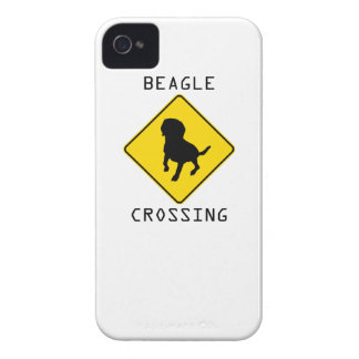 Beagle Crossing iPhone 4 Case-Mate Cases