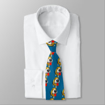 Beagle Cute Cartoon Tie