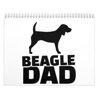 Beagle Dad Calendar