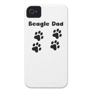Beagle Dad iPhone 4 Case
