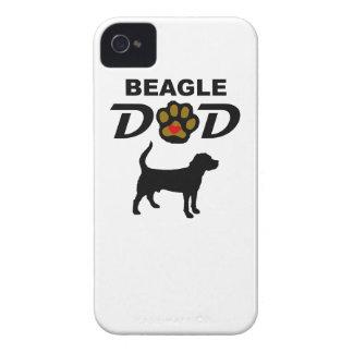 Beagle Dad iPhone 4 Case-Mate Case