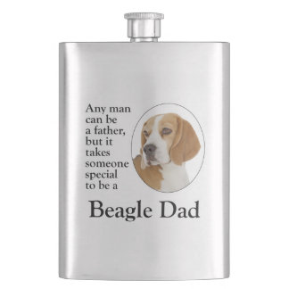 Beagle Dad Flask