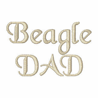 Beagle DAD Gifts Polo