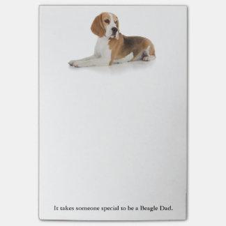 Beagle Dad Post-It Notes