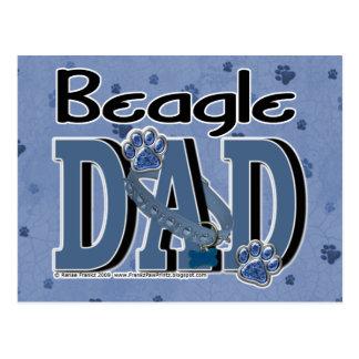 Beagle DAD Postcard