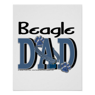 Beagle DAD Poster